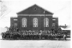 The First Baptist Church of Barbourville was built in 1922 and was replaced in late 1960's, early 1970's.