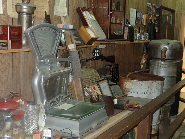 Commmunities Hall - Ben Messer Store artifacts