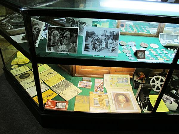 Daniel Boone Room - Daniel Boone Festival Memorabilia